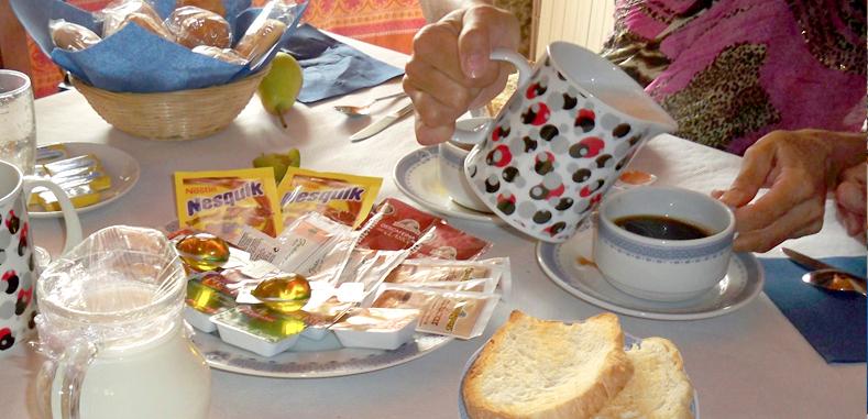 domingo ligero desayuno